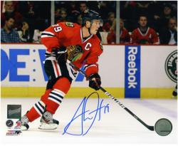 Jonathan Toews Chicago Blackhawks Autographed 8'' x 10'' Horizontal Photograph - Mounted Memories