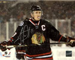 Jonathan Toews Chicago Blackhawks Autographed 8'' x 10'' Stadium Series Photograph - Mounted Memories