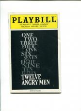 Tom Aldredge Twelve Angry Men Rare Broadway Play Cast Signed Autograph Playbill