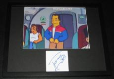 Tom Arnold The Simpsons Signed Framed 11x14 Photo Display JSA