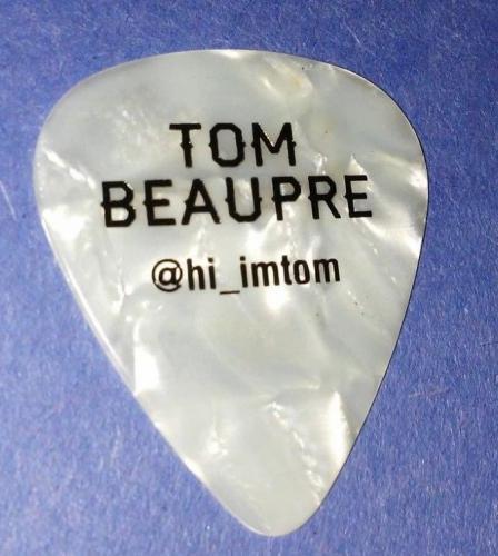 Tom Beaupre Florida Georgia Line Concert Tour Guitar Pick Rare Authentic