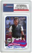 Tom Berenger Major League Autographed 2014 Topps Archives #MLC-JT Card
