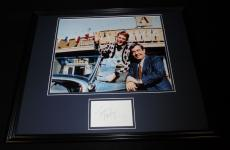Tom Bosley Signed Framed 16x20 Poster Photo Display Happy Days w/ Ron Howard
