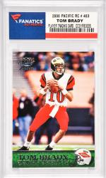 Tom Brady New England Patriots 2000 Pacific Rookie #403 Card