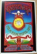 Tom Constanten signed 12x18 Replica 1969 Grateful Dead Concert Poster PSA/DNA