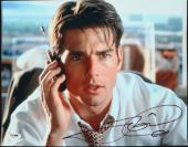 Tom Cruise Actor Jerry Maguire Signed 11x14 Photo - PSA/DNA COA