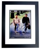 Tom Cruise and Dustin Hoffman Signed - Autographed RAIN MAN 11x17 inch Photo BLACK CUSTOM FRAME - Guaranteed to pass PSA or JSA