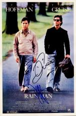 Tom Cruise and Dustin Hoffman Signed - Autographed RAIN MAN 11x17 inch Photo - Guaranteed to pass PSA or JSA