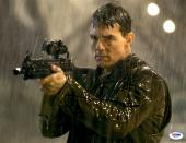 "Tom Cruise Autographed 11""x 14"" Jack Reacher Shooting Gun Photograph - PSA/DNA COA"