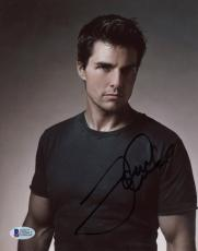 "Tom Cruise Autographed 8""x 10"" Posed Photograph - BAS COA"