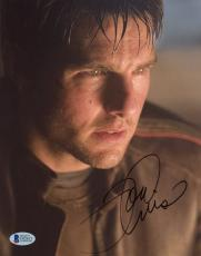 "Tom Cruise Autographed 8""x 10"" War of the Worlds Head Shot Photograph - BAS COA"