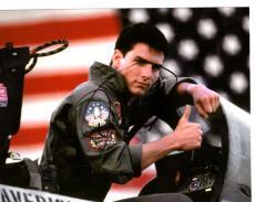 Tom Cruise Autographed 8x10 Top Gun Photo & Video Proof UACC AFTAL