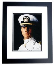 "Tom Cruise Autographed ""A Few Good Men"" 8x10 Photo BLACK CUSTOM FRAME"