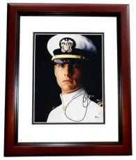 "Tom Cruise Autographed ""A Few Good Men"" 8x10 Photo MAHOGANY CUSTOM FRAME"