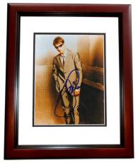 Tom Cruise Autographed Legendary Actor 8x10 Photo MAHOGANY CUSTOM FRAME