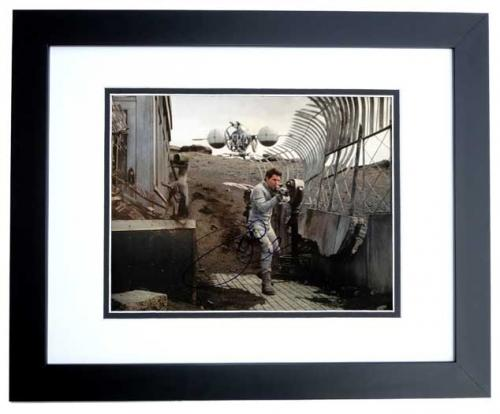 Tom Cruise Signed - Autographed OBLIVION 11x14 inch Photo BLACK CUSTOM FRAME - Guaranteed to pass PSA or JSA