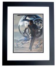 Tom Cruise Autographed OBLIVION 11x14 Photo BLACK CUSTOM FRAME