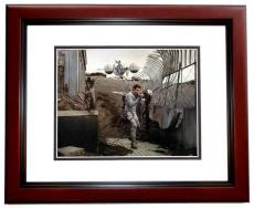 Tom Cruise Autographed OBLIVION 11x14 Photo MAHOGANY CUSTOM FRAME