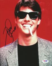 Tom Cruise Autographed Signed 8x10 Photo PSA/DNA #Q89438