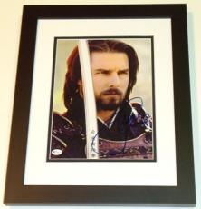 "Tom Cruise Autographed ""The Last Samurai"" 8x10 Photo BLACK CUSTOM FRAME"