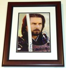 "Tom Cruise Autographed ""The Last Samurai"" 8x10 Photo MAHOGANY CUSTOM FRAME"
