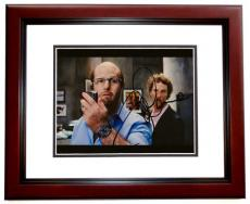 Tom Cruise Autographed TROPIC THUNDER Fat Suit 8x10 Photo MAHOGANY CUSTOM FRAME