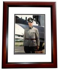 Tom Cruise Autographed Valkyrie 11x14 Photo MAHOGANY CUSTOM FRAME