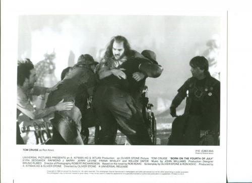 Tom Cruise Born On The Fourth Of July Original Movie Still Press Photo