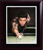 Tom Cruise Color of money Top gun signed 8x10 photo framed autograph JSA COA
