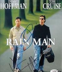 Tom Cruise Dustin Hoffman double autographed signed auto Rain Man 8x10 photo JSA