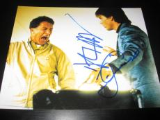 TOM CRUISE DUSTIN HOFFMAN SIGNED AUTOGRAPH 8x10 PHOTO RAIN MAN IN PERSON COA D