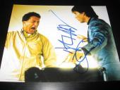 TOM CRUISE DUSTIN HOFFMAN SIGNED AUTOGRAPH 8x10 PHOTO RAIN MAN IN PERSON COA D