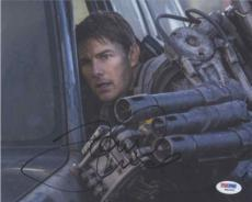 Tom Cruise Edge of Tomorrow Autographed Signed 8x10 Photo Authentic PSA/DNA COA