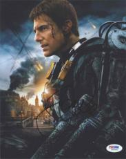 Tom Cruise Edge of Tomorrow Autographed Signed 8x10 Photo Certified PSA/DNA
