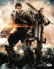 Tom Cruise Edge Of Tomorrow Signed 11X14 Photo PSA/DNA #W70013