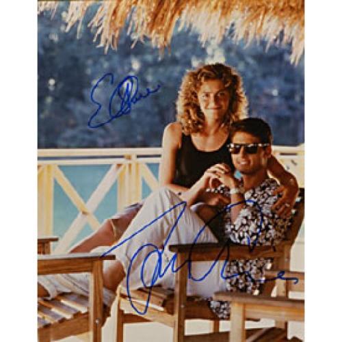 Tom Cruise / Elizabeth Shue Autographed Celebrity 8x10 Photo