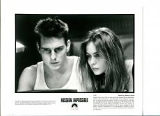 Tom Cruise Emanuelle Beart Mission Impossible Original Press Still Movie Photo