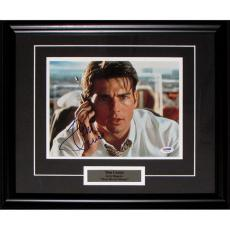 Tom Cruise Framed Autographed 8X10 Photo