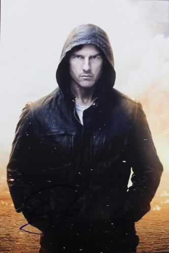 Tom Cruise Mission Impossible: Ghost Protocol Signed 12x18 Photo PSA/DNA #X12731