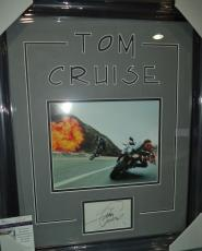 Tom Cruise Mission Impossible Movie Signed Autographed Jsa Coa Matted & Framed B