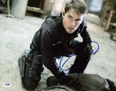 Tom Cruise Mission Impossible Signed 11X14 Photo PSA/DNA #W79743