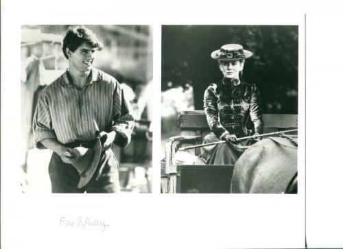 Tom Cruise Nicole Kidman Far and Away Original Press Still Movie Photo