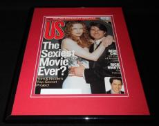 Tom Cruise Nicole Kidman Framed 11x14 ORIGINAL 1999 US Magazine Cover