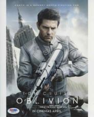 TOM CRUISE Oblivion Autographed Signed 8x10 Photo Authentic PSA/DNA AFTAL COA