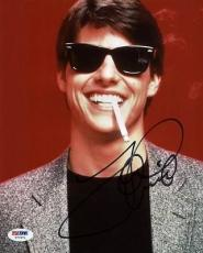 Tom Cruise Risky Business Signed 8X10 Photo PSA/DNA #T77871