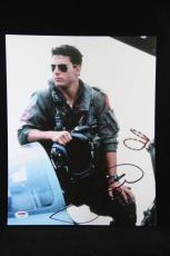 Tom Cruise signed 11x14 autographed photo PSA U23209 Top Gun