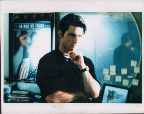 Tom Cruise Signed 11x14 Mission Impossible Photo Video Proof COA AFTAL