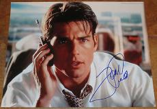 Tom Cruise Signed 11x14 Photo Autograph Mission Impossible Cocktail Top Gun Coa