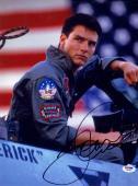Tom Cruise SIGNED 11x14 Photo LT Maverick Mitchell Top Gun PSA/DNA AUTOGRAPHED