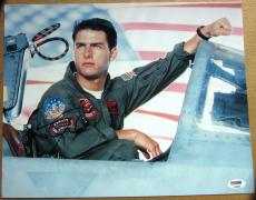 Tom Cruise signed 11x14 photo Top Gun PSA/DNA autograph